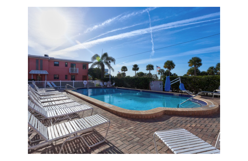 Pool at Gulf Winds Resort Condominiums.