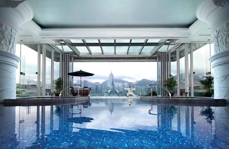 Pool at The Peninsula Hong Kong.