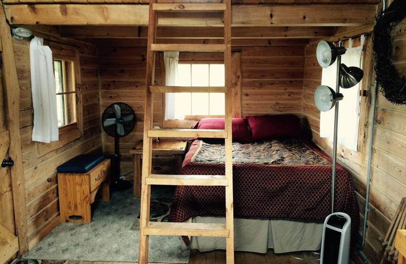 Cabin beds at Black Lantern Resort and Retreat.