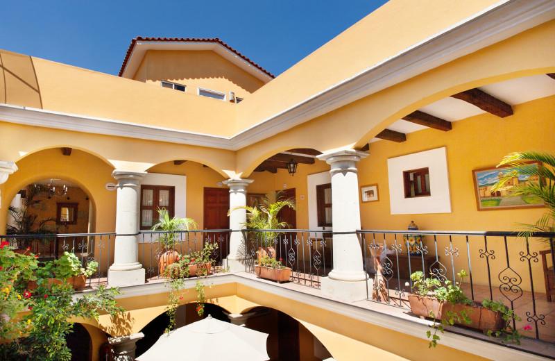 Exterior view of Raintree's Casa San Felipe Hostal Oaxaca.