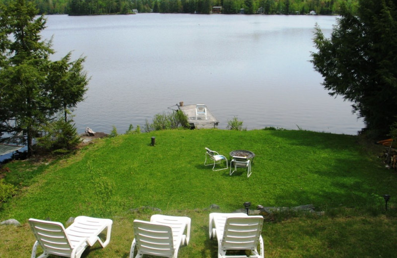 Lake view at Franconia Notch Vacations Rental & Realty.