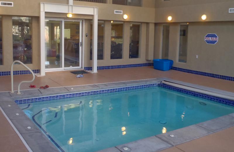 Rental pool at Utah Family Lodges.