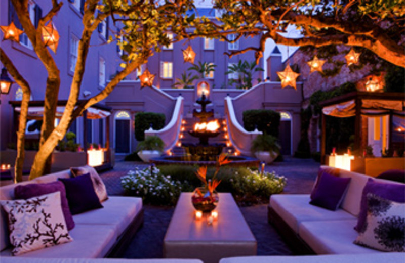 Exterior Lounge Area at W New Orleans - French Quarter