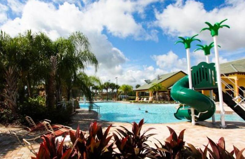 Resort water park at Orlando Luxury Escapes Vacation Rentals.