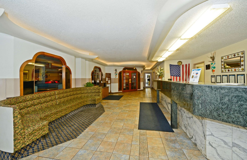 Lobby at America's Best Value Inn - Benton Harbor.