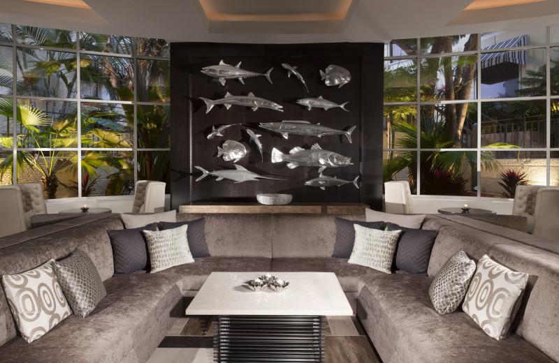 Dining room at La Concha Hotel & Spa.