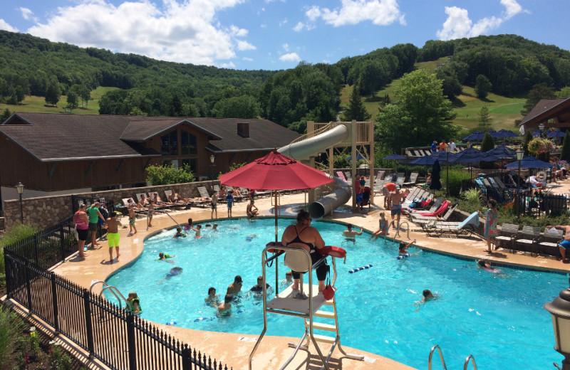 Pool at Holiday Valley Resort.