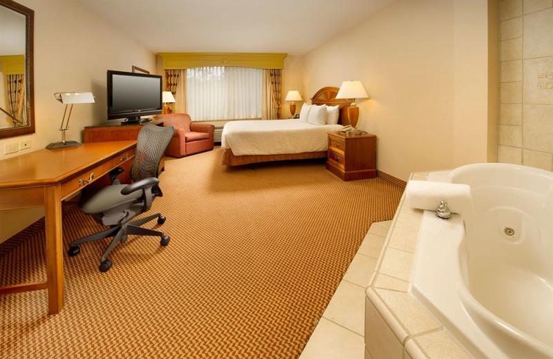 Guest room at Hilton Garden Inn Columbus.