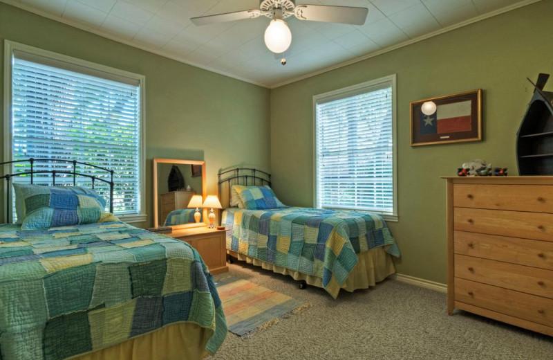 Bedroom at Eastbank River Respite.