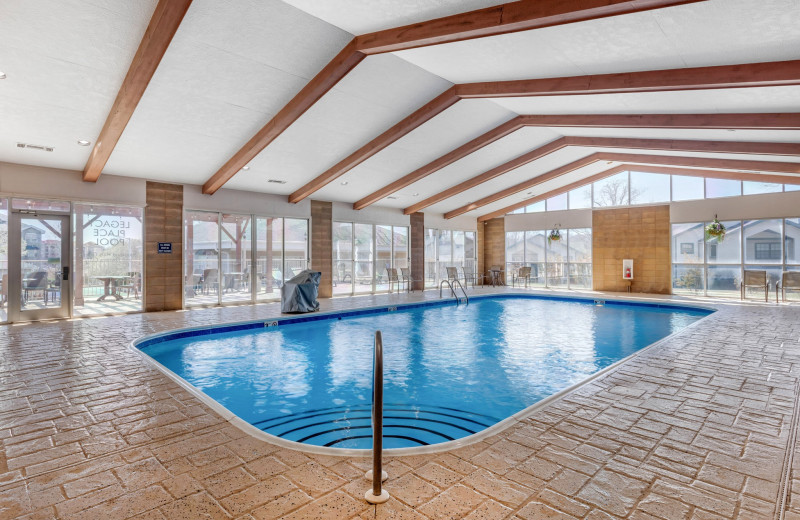 Indoor pool at Thousand Hills Golf Resort.