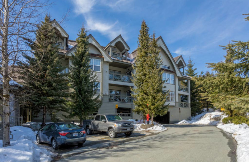 Rental exterior view of Whistler Breaks.