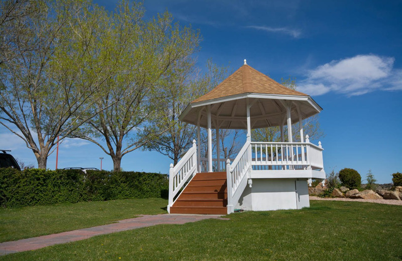 Wedding gazebo at Prescott Resort & Conference Center.