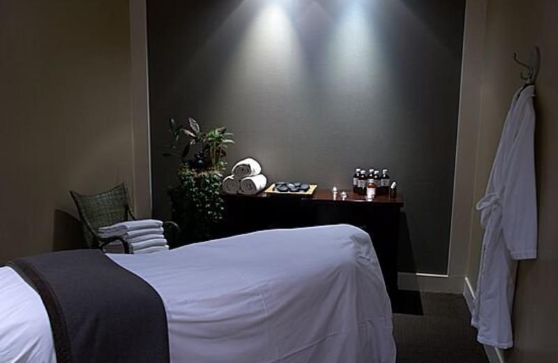 Spa Massage Table at The Rimrock Resort Hotel