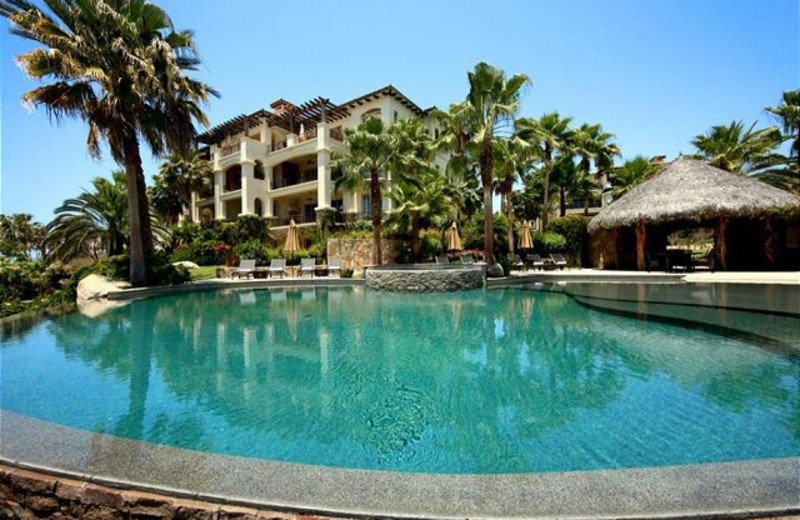 Outdoor pool at Luxury Villa Collections.