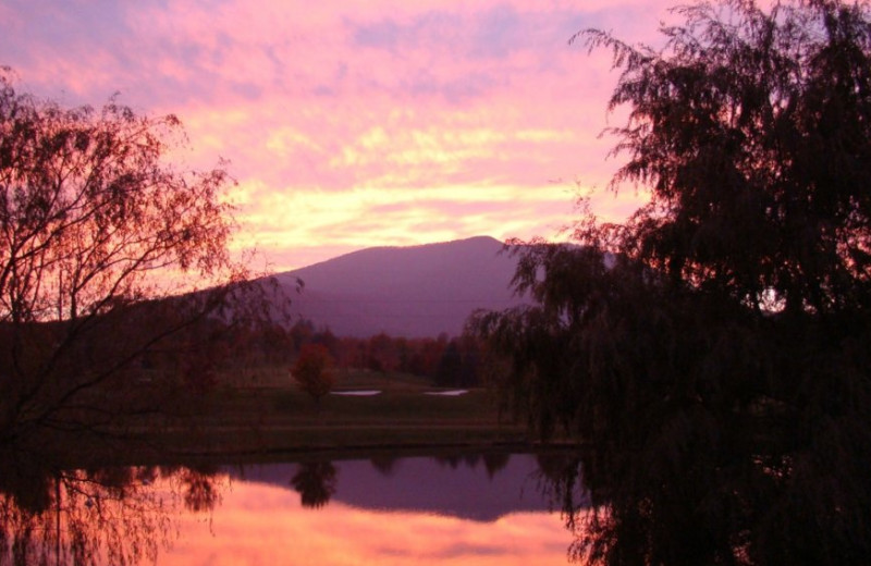Sunset at Jefferson Landing.