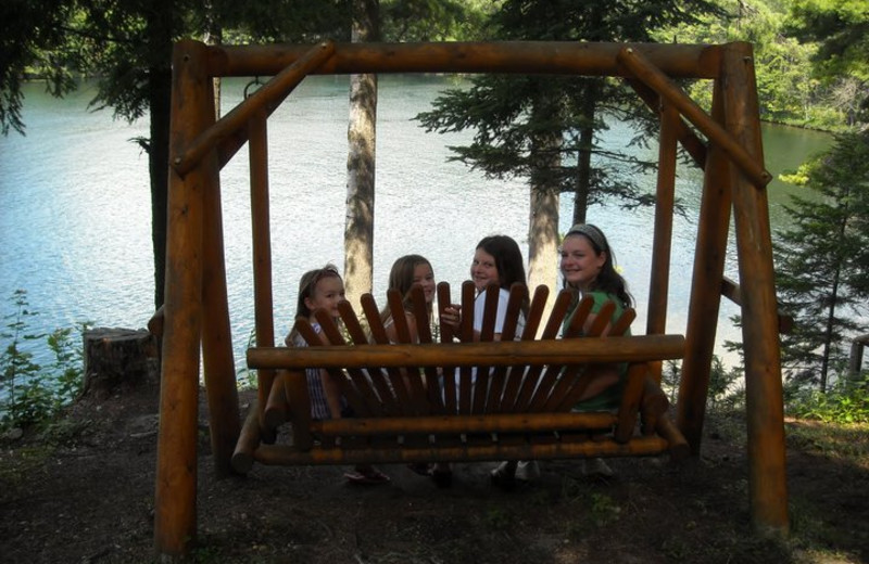 Lounging by the Lake at White Lake Lodges