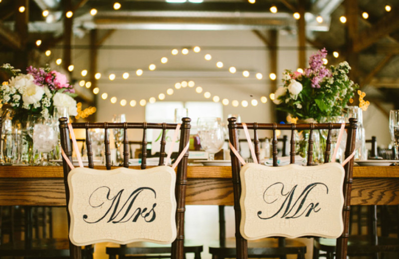 Wedding reception at The Mountain Top Inn & Resort.
