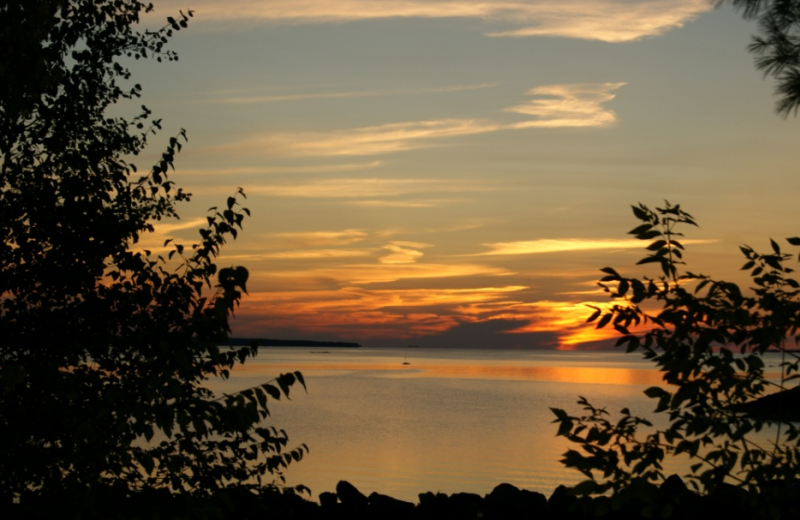 The Lake at Sunset Cove Lodge