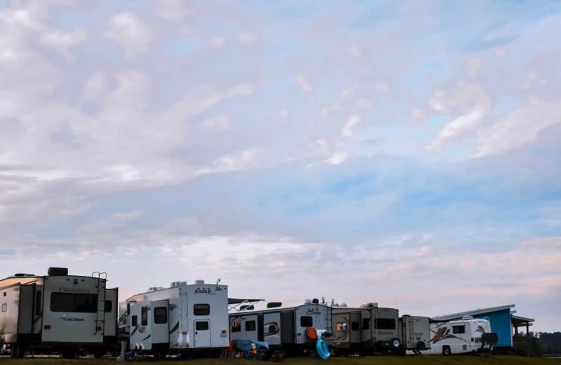RV camp at D'Arbonne Pointe.
