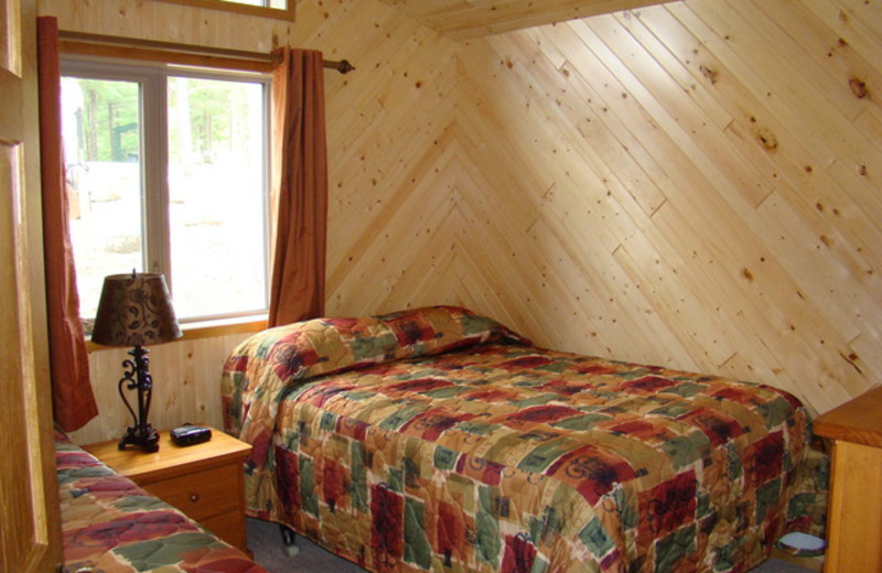 Guest Room at Tomahawk Resort