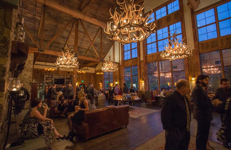 Lobby at Mountain Creek Resort.