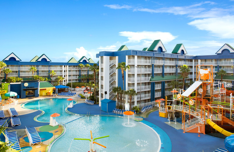 Waterpark at Holiday Inn Resort Orlando Suites - Waterpark.
