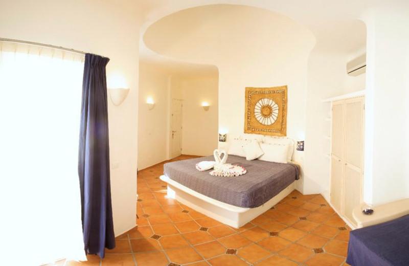 Guest room at Aqualuna Hotel.