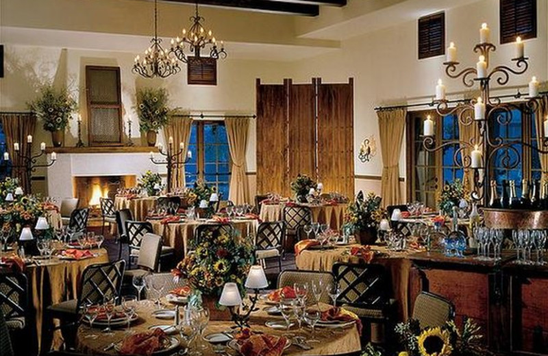 Dining at La Posada de Santa Fe Resort & Spa.