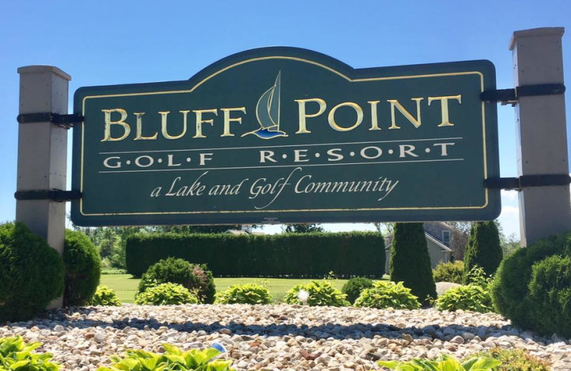 Welcome to Bluff Point Golf Resort.