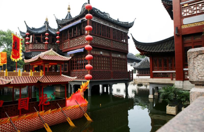Forbidden City near InterContinental Shanghai Pudong.
