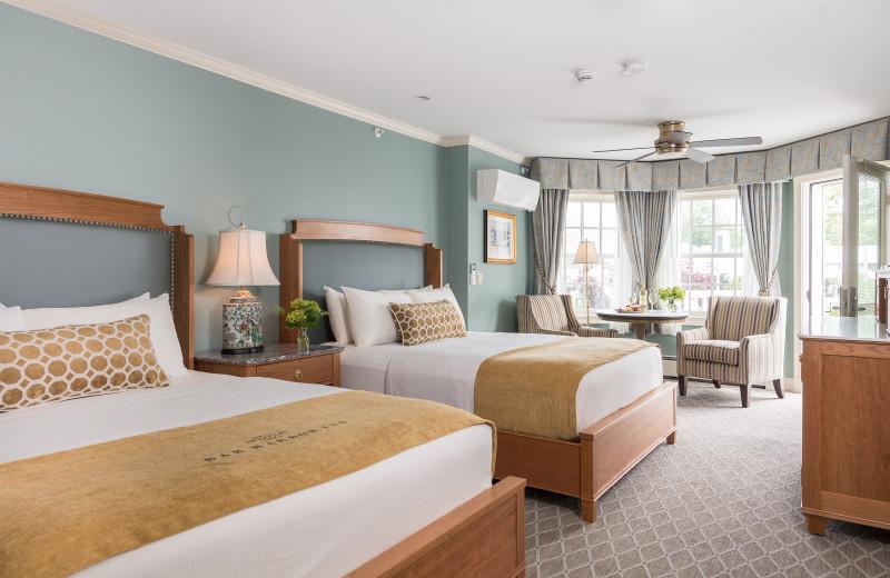 Guest room at Bar Harbor Inn & Spa.
