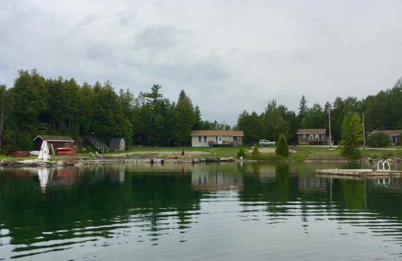 Exterior view of Black Rock Resort.
