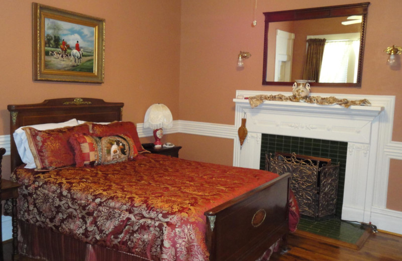 Guest room at Historic Woldert-Spence Manor.
