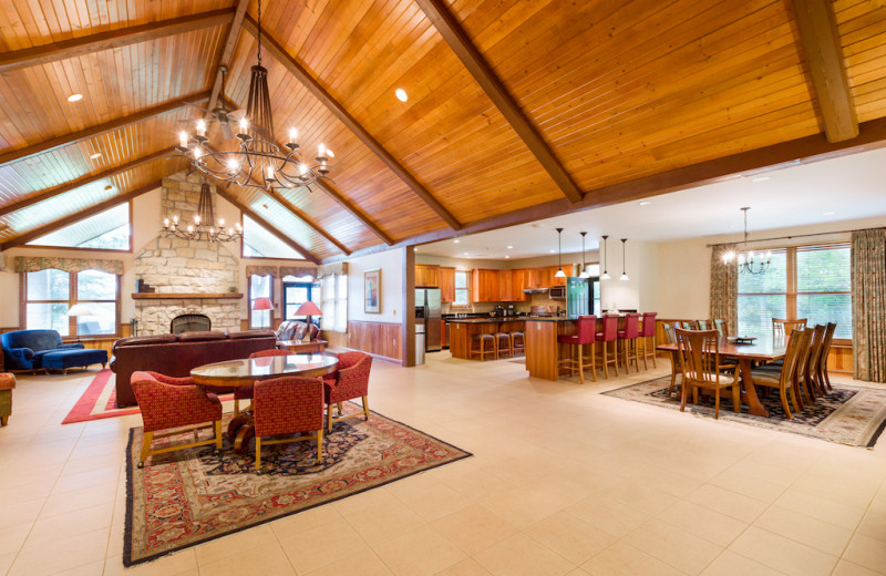 Estate interior at Oglebay Resort and Conference Center.