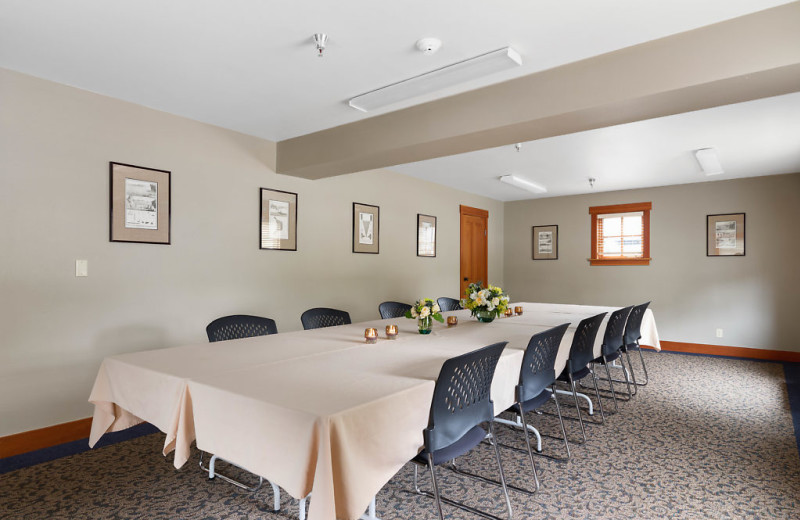 This event space can be booked for meetings, conferences, dinners and more!