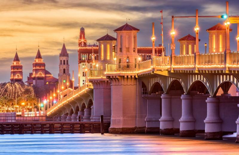 Bridge near Saint Augustine Beach Vacation Rentals.