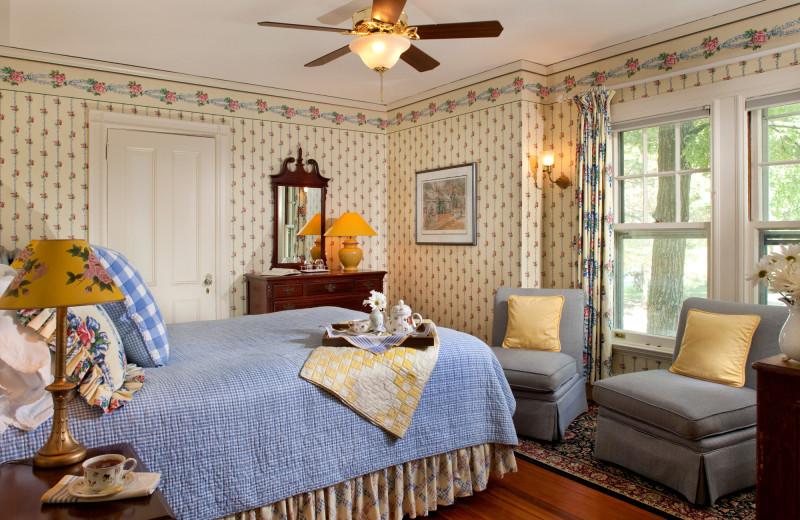 Carriage house room at Birchwood Inn.