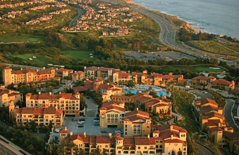 Aerial view of Marriott's Newport Coast Villas.
