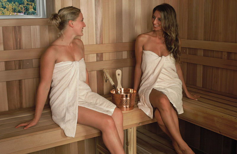 Sauna at Stoweflake Mountain Resort & Spa.