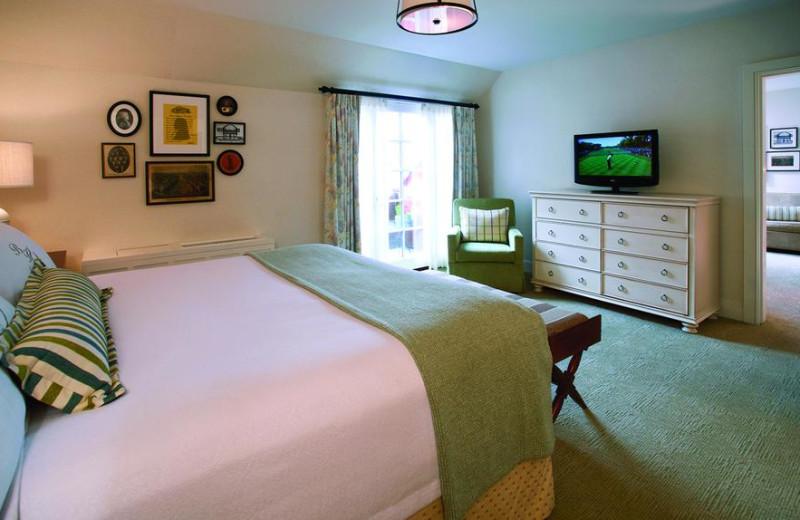 Guest room at Boar's Head Resort.