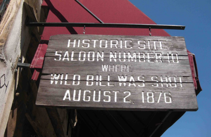 Historic tour by Boot Hill near Deadwood Connections.