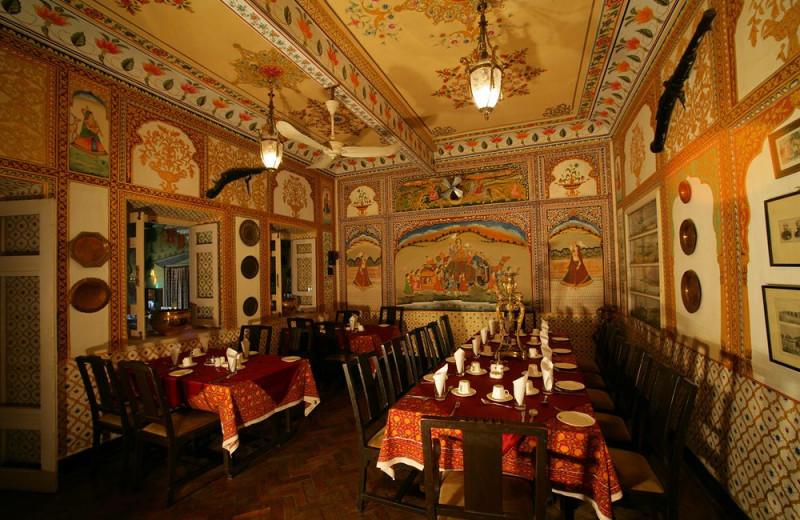 Restaurant at Bissau Palace.