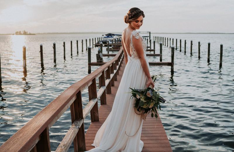 Bride at Beso Del Sol Resort.