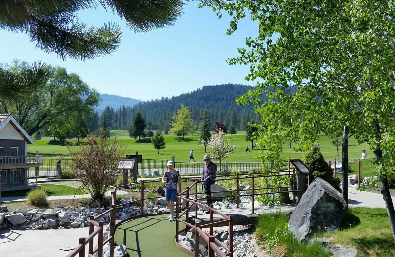 Golf course at Stoneridge Resort.