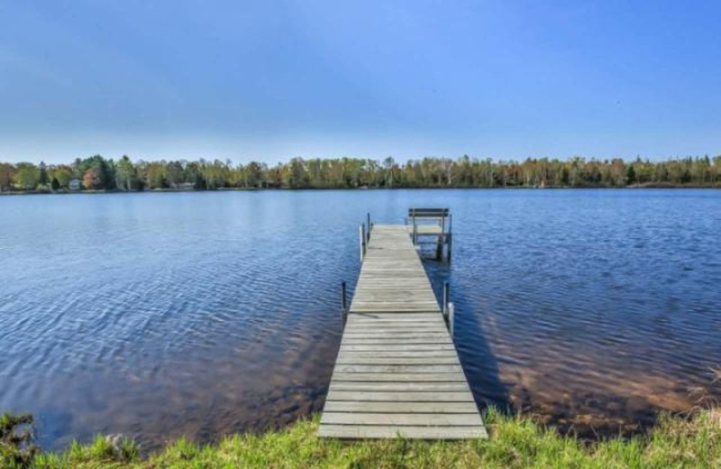 Rental dock at Lakeland Rental Management.