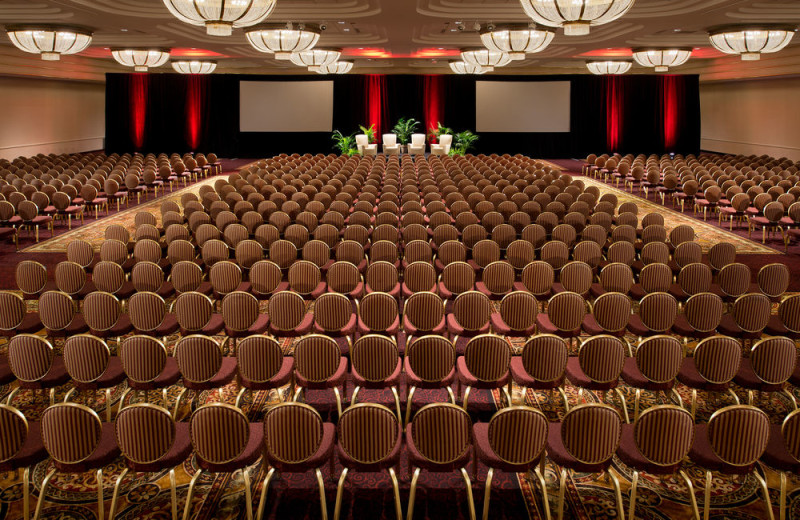 Event room at Turning Stone Resort Casino.