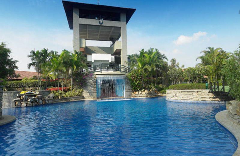 Outdoor pool at Angsana Oasis Spa & Resort.