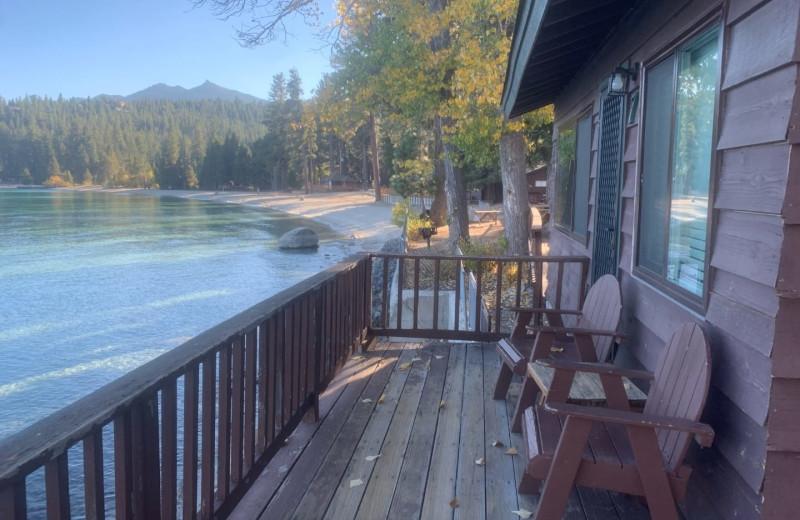 Cabin at Meeks Bay Resort.