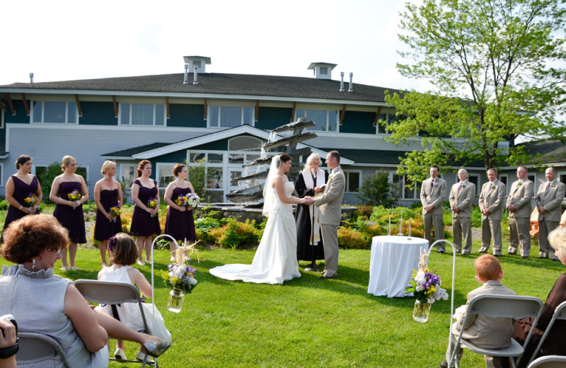 Weddings at Stoweflake Mountain Resort & Spa.