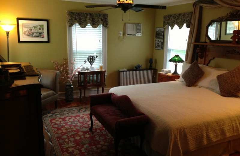 Guest room at Sterling Harbor House B & B.